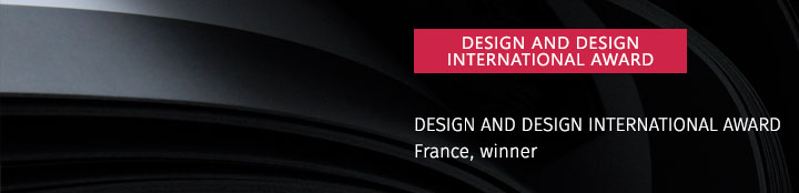 2011 DESIGN AND DESIGN INTERNATIONAL AWARD
