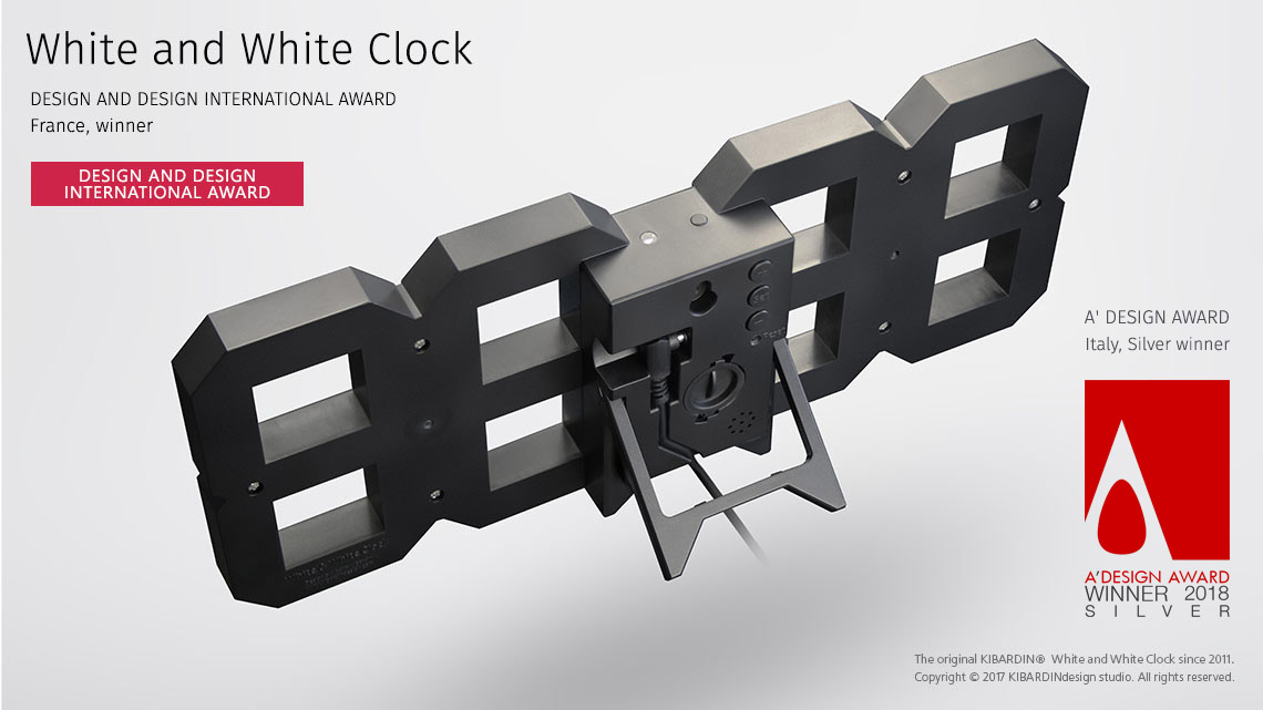 White and White Clock_Black edition_2