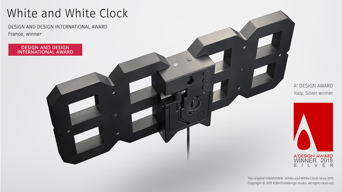 White and White Clock_Black edition_3